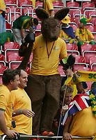 Foto Omega/Colombo<br /> 26/06/2006 Campionati Mondiali di Calcio 2006<br /> Ottavi di Finale <br /> Italia -Australia  <br /> nella foto : i tifosi australiani