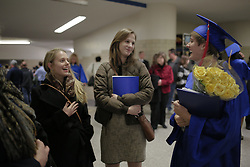 Tessa Lighty graduates, Hurrah, Friday, Dec. 19, 2014 at Memorial Coliseum in Lexington.