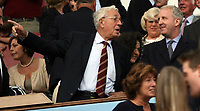 Photo: Rich Eaton.<br /> <br /> Aston Villa v Newcastle United. The Barclays Premiership. 27/08/2006. Doug Ellis left pictured with new owner of Aston Villa Randy Lerner