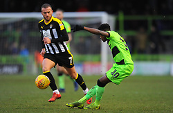 Reece Brown of Forest Green Rovers crosses the ball - Mandatory by-line: Nizaam Jones/JMP- 09/02/2019 - FOOTBALL - New Lawn Stadium- Nailsworth, England - Forest Green Rovers v Notts County - Sky Bet League Two