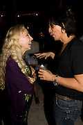 FRANCA SOZZANI; STEPHEN GAN.  The Launch of Visionaire 55 Surprise in collaboration with Krug. Raleigh Hotel. Art Basel Miami Beach. 4 December 2008 *** Local Caption *** -DO NOT ARCHIVE -Copyright Photograph by Dafydd Jones. 248 Clapham Rd. London SW9 0PZ. Tel 0207 820 0771. www.dafjones.com