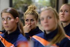 20150922 NED: Persconferentie EK  Volleybal Nederlands vrouwen team, Apeldoorn