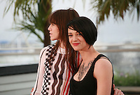 Charlotte Gainsbourg and Asia Argento at the photo call for the film Misunderstood (Incompresa) at the 67th Cannes Film Festival, Thursday 22nd May 2014, Cannes, France.