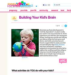 Nickleodeon channel website