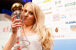 Klara Kroselj Miss Sports of Slovenia 2013, on April 20, 2013, in Festivalna dvorana, Ljubljana, Slovenia. (Photo by Urban Urbanc / Sportida.com)