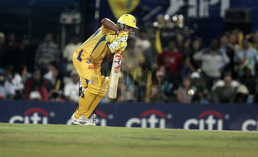 CENTURION, SOUTH AFRICA - 30 April 2009.  during the  IPL Season 2 match between the Rajasthan Royals and the Chennai Superkings held at  in Centurion, South Africa.MS Dhoni.