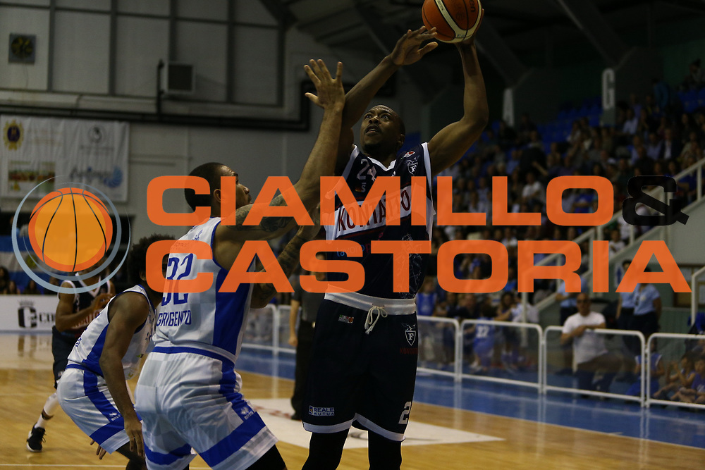 Justin Knox<br /> Moncada Agrigento - Kontatto Bologna<br /> Campionato Basket LNP 2016/2017<br /> Agrigento 03/05/2017<br /> Foto Ciamillo-Castoria