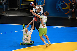 Narcisse Daniel during 25th IHF men's world championship 2017 match between France and Slovenia at Accord hotel Arena on january 24 2017 in Paris. France. PHOTO: CHRISTOPHE SAIDI / SIPA / Sportida