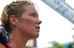 30-06-2000 NED: Beach Masters Tournooi, Apeldoorn<br /> Jaline 't Hart