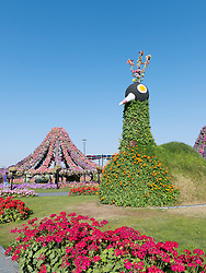 Miracle Garden in Dubai UAE, Opened in March 2013 and claimed to World's largest flower garden