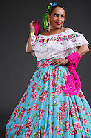 Mexican girl traditional dress, hand made<br />