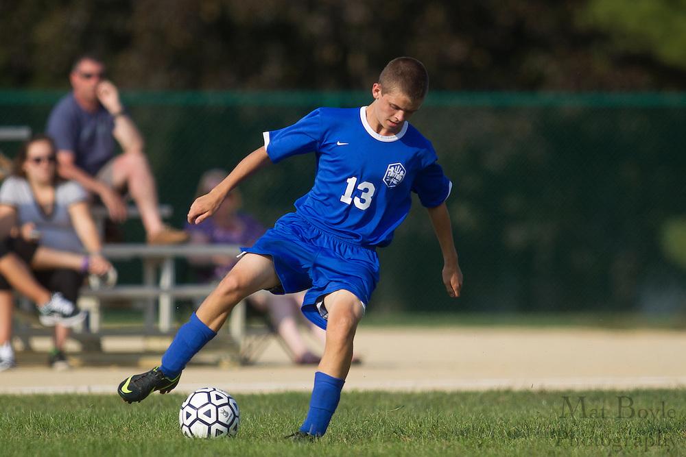Gloucester County Institute of Technology Boys Soccer hosts Triton High Schoolon Monday September 17, 2012. (photo / Mat Boyle)
