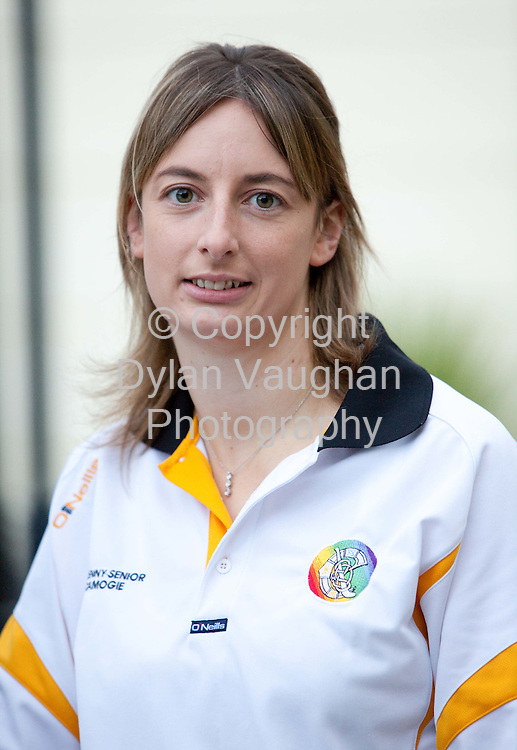 26/8/2009.Elaine Aylward of the Kilkenny Camoige Team..Picture Dylan Vaughan