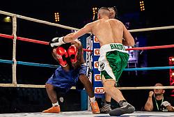 Andrej Bakovič vs Martin Bosković (red) during their superwelterweight fight at CFC 5 Fighting event, on October 6, 2019 in Arena Stozice, Ljubljana, Slovenia. Photo by Vid Ponikvar / Sportida
