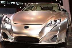 08 February 2007: 2007 Lexus LF-A Exotic Sports Car concept. The Chicago Auto Show is a charity event of the Chicago Automobile Trade Association (CATA) and is held annually at McCormick Place in Chicago Illinois.