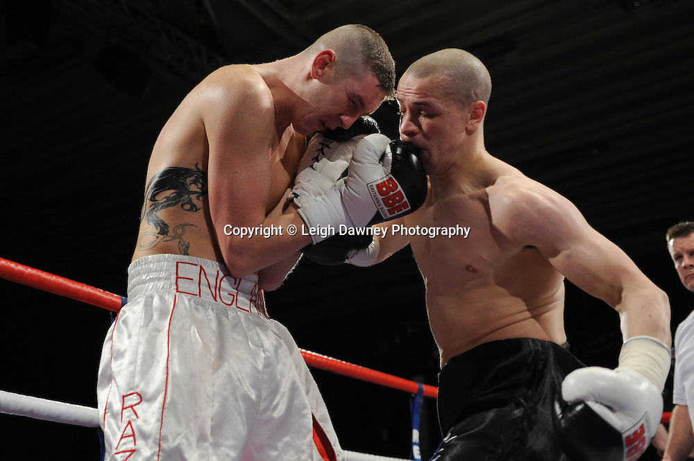 Carl Johanneson defeats George Watson - 22nd January 2011 at Doncaster Dome, Doncaster - Frank Maloney Promotions. Credit © Leigh Dawney.