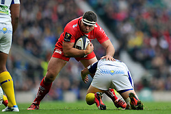 Guilhem Guirado of Toulon - Photo mandatory by-line: Patrick Khachfe/JMP - Mobile: 07966 386802 02/05/2015 - SPORT - RUGBY UNION - London - Twickenham Stadium - ASM Clermont Auvergne v RC Toulon - European Rugby Champions Cup Final