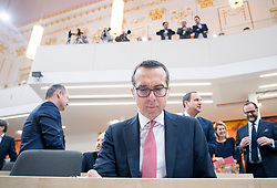 21.03.2018, Hofburg, Wien, AUT, Parlament, Sitzung des Nationalrates mit Budgetrede des Finanzministers für das Doppelbudget 2018 und 2019, im Bild SPÖ-Klubobmann Christian Kern // Party whip of the Austrian Social Democratic Party Christian Kern during meeting of the National Council of austria with the presentation of the Austrian government budget for 2018 and 2019 at Hofburg palace in Vienna, Austria on 2018/03/21, EXPA Pictures © 2018, PhotoCredit: EXPA/ Michael Gruber