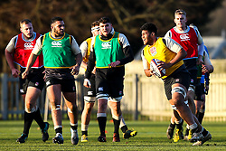 Cameron Nordli-Kelemeti of England Under 20s - Mandatory by-line: Robbie Stephenson/JMP - 08/01/2019 - RUGBY - Bisham Abbey National Sports Centre - Bisham Village, England - England Under 20s v  - England Under 20s Training