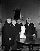 1952 - Presentation of Roger Casement bust at Aras an Uachtarain