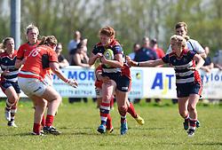 Kayleigh Armstrong of Bristol Ladies - Mandatory by-line: Paul Knight/JMP - 09/04/2017 - RUGBY - Cleve RFC - Bristol, England - Bristol Ladies v Saracens Women - RFU Women's Premiership Play-off Semi-Final