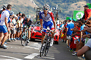 Rudy Molard (FRA, Groupama - FDJ during the 73th Edition of the 2018 Tour of Spain, Vuelta Espana 2018, Stage 13 cycling race, Candas Carreno - La Camperona 174,8 km on September 7, 2018 in Spain - Photo Luca Bettini / BettiniPhoto / ProSportsImages / DPPI