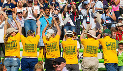 Supporter AUS - Alltech FEI World Equestrian Games™ 2014 - Normandy, France.<br /> © Hippo Foto Team - Leanjo De Koster<br /> 31-08-14
