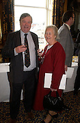 Mr. and Mrs. Kenneth Clarke, Political Studies Association Awards 2004. Institute of Directors, Pall Mall. London SW1. 30 November 2004.  ONE TIME USE ONLY - DO NOT ARCHIVE  © Copyright Photograph by Dafydd Jones 66 Stockwell Park Rd. London SW9 0DA Tel 020 7733 0108 www.dafjones.com