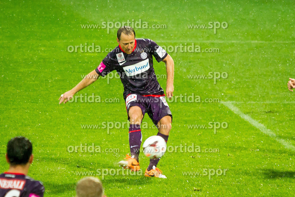 11.05.2014, Generali Arena, Wien, AUT, 1. FBL, FK Austria Wien vs SK Sturm Graz, 36. Runde, im Bild Tomas Jun, (FK Austria Wien, #11) beim Schuss zum Tor zum 1:1// during Austrian Bundesliga Football Match, 36th Round, between FK Austria Wien and SK Sturm Graz at the Generali Arena, Vienna, Austria on 2014/05/11. EXPA Pictures © 2014, PhotoCredit: EXPA/ Sebastian Pucher