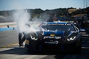 April 28-May 1, 2016: Lamborghini Super Trofeo, Laguna Seca: #1 Shinya Michimi, Prestige Performance, Lamborghini Paramus (Pro)