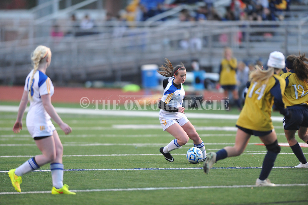 Oxford High vs. Pearl in girls high school soccer in Oxford, Miss. on Wednesday, November 26, 2014. Oxford won 3-0.