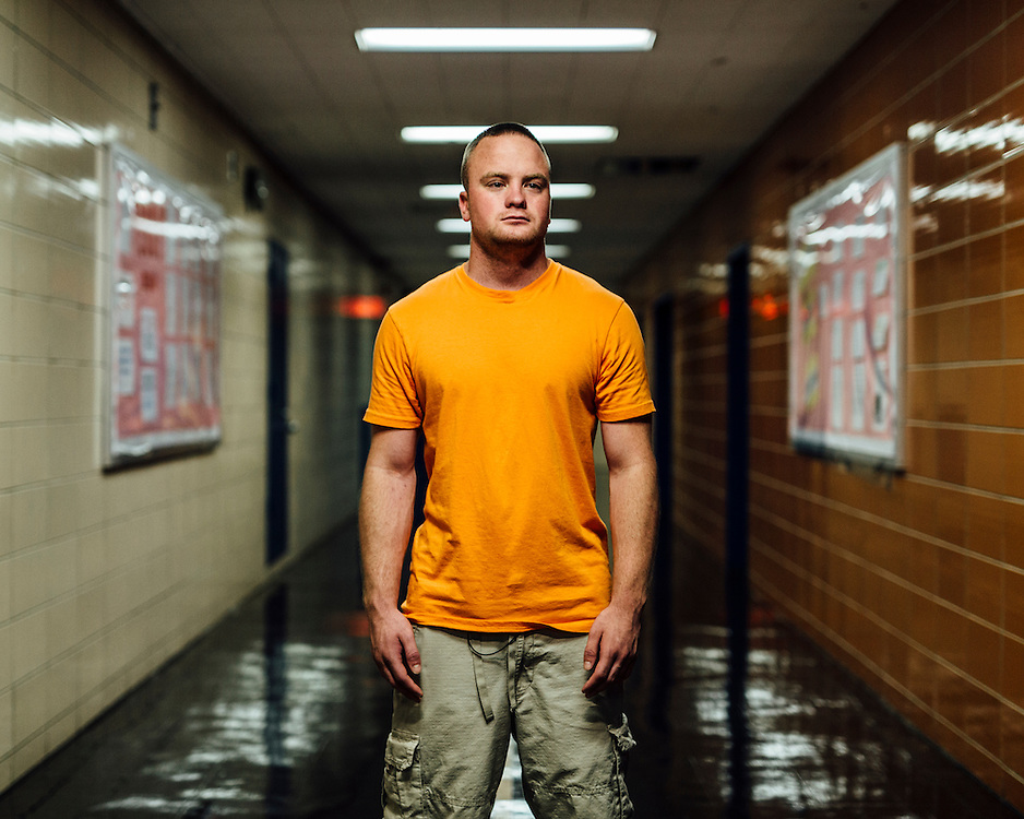 """Joe Filipowicz, 23, Staten Island, NY, USA. """"I lost my twin."""" 