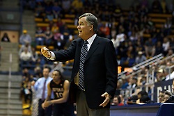 Jan 14, 2012; Berkeley CA, USA;  California Golden Bears head coach Mike Montgomery on the sidelines against the Utah Utes during the first half at Haas Pavilion.  Mandatory Credit: Jason O. Watson-US PRESSWIRE