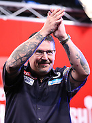 Gary Anderson during the 2018 Players Championship Finals at Butlins Minehead, Minehead, United Kingdom on 23 November 2018.
