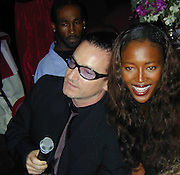 Bono & Naomi Campbell<br />