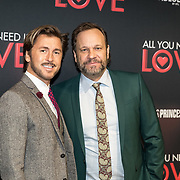 NLD/Amsterdam/20181126 - premiere All You Need Is Love, Carlo Boszhard en partner Herald Adolfs