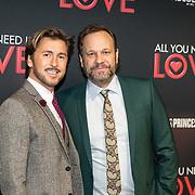 NLD/Amsterdam/20181126 - premiere All You Need Is Love, Carlo Boszhard en partner Herald Adolfs