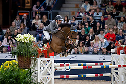 BEERBAUM Ludger (GER), Cool Feeling <br /> Göteborg - Gothenburg Horse Show 2019 <br /> Gothenburg Trophy presented by VOLVO<br /> Int. jumping competition with jump-off (1.55 m)<br /> Longines FEI Jumping World Cup™ Final and FEI Dressage World Cup™ Final<br /> 06. April 2019<br /> © www.sportfotos-lafrentz.de/Stefan Lafrentz