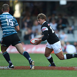 sharks new boy get his 1st run on for the sharks Patrick Lambie<br /> <br /> ABSA Currie Cup Premier Div K/O 3PM<br /> 22nd August 2009<br /> Sharks vs GWK Griquas<br /> Kings Park Absa stadium