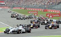 Vor dem Unfall von Felipe Massa (Williams Mercedes)<br /> Formel 1, Grosser Preis Santander von Deutschland 2014, Hockenheimring<br /> Norway only<br /> F1