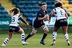 Elizabeth Shermer of Worcester Warriors Women - Mandatory by-line: Robbie Stephenson/JMP - 01/12/2019 - RUGBY - Sixways Stadium - Worcester, England - Worcester Warriors Women v Bristol Bears Women - Tyrrells Premier 15s