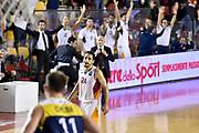 DESCRIZIONE : Eurocup 2014/15 Acea Roma Ewe Basket Oldenburg<br /> GIOCATORE : Rok Stipcevic<br /> CATEGORIA : esultanza composizione<br /> SQUADRA : Acea Roma<br /> EVENTO : Eurocup 2014/15<br /> GARA : Acea Roma Ewe Basket Oldenburg<br /> DATA : 12/11/2014<br /> SPORT : Pallacanestro <br /> AUTORE : Agenzia Ciamillo-Castoria /GiulioCiamillo<br /> Galleria : Acea Roma Ewe Basket Oldenburg<br /> Fotonotizia : Eurocup 2014/15 Acea Roma Ewe Basket Oldenburg<br /> Predefinita :