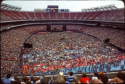 Grateful Dead Live at Giants Stadium on September 2, 1978. Wide View.