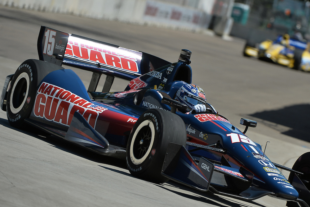 Graham Rahal, The Raceway at Belle Isle Park, Detroit, MI USA 6/1/2014