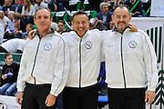 DESCRIZIONE : Beko Legabasket Serie A 2015- 2016 Playoff Quarti di Finale Gara3 Dinamo Banco di Sardegna Sassari - Grissin Bon Reggio Emilia<br /> GIOCATORE : Dino Seghetti - Gianluca Mattioli - Maurizio Biggi <br /> CATEGORIA : Arbitro Referee Before Pregame<br /> SQUADRA : AIAP<br /> EVENTO : Beko Legabasket Serie A 2015-2016 Playoff<br /> GARA : Quarti di Finale Gara3 Dinamo Banco di Sardegna Sassari - Grissin Bon Reggio Emilia<br /> DATA : 11/05/2016<br /> SPORT : Pallacanestro <br /> AUTORE : Agenzia Ciamillo-Castoria/C.Atzori