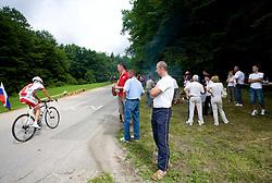 Domen Hribar at Slovenian National Championships in Road cycling, 178 km, on June 28 2009, in Mirna Pec, Slovenia. (Photo by Vid Ponikvar / Sportida)