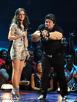New York, NY-September 13, 2009: Jack Black performs during the MTV Video Music Awards at Radio City Music Hall on September 13, 2009 in New York City (Photo by Jeff Snyder/PictureGroup)