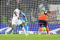 But Kevin BERIGAUD - 09.01.2015 - Montpellier / Marseille - 20eme journee de Ligue 1<br />Photo : Nicolas Guyonnet / Icon Sport
