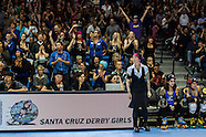 2013 Santa Cruz Boardwalk Bombshells and Sin City Rollergirls