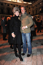 BEN & MARINA FOGLE at Skate presented by Tiffany & Co at Somerset House, London on 22nd November 2010.